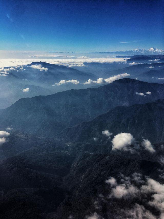 Thimphu - Airplane Landing