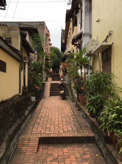 Alleyways of Luang Prabang